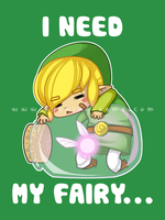 I need my fairy... by Kuching-sama