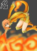 charmander girl by SodeAfro