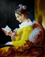 "my ""reading girl"" by sebastian-wp"