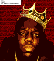 Notorious B.I.G by GDark-Art