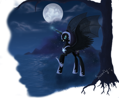 Nightmare-Moon by Queen-Snowflake