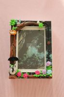 Totoro picture frame by AngelicLight100