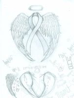 breast cancer angel by emeraldandazure