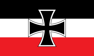 Flag of Imperial Germany by LtAngemon
