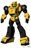 """TF: Victory"" Bumblebee Colors by VaderPrime1"