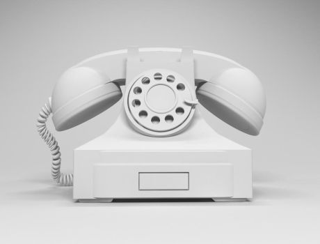 Modeling 3D Old TELEPHONE by moudjahad
