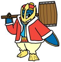 King Dedede Empoleon Crossover by Chrisstiger