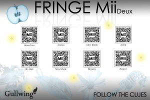 Fringe Mii QR codes Collection by Gullwingxtreme