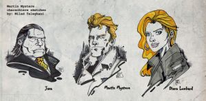 Portrait Sketches by martin-mystere