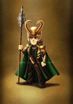 Mean Little Loki by ryodita