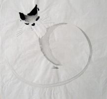 Fat Cat Number 2 by chinesepaintings