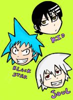 Soul Eater stickers maybe by gobixhoukou
