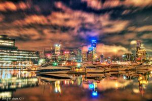 City Reflections HDR by DanielleMiner
