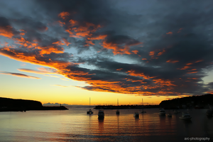 Dawn at Ulladulla harbour by Arc-photography