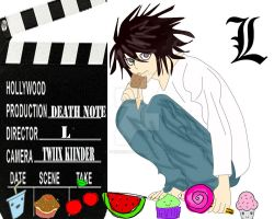 L death note by TwiixKiinder