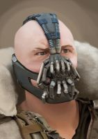 Tom Hardy as Bane (The Dark Knight Rises) by CherylDakota