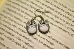 Totoro Earrings by Nabila1790
