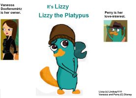 Lizzy the Platypus by lindsay1111