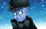 Megamind Winter Wallpaper by LockworkOrange