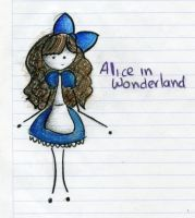 Alice in Wonderland Colored by PnJLover