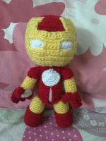 Iron Man sackboy 2.0 by NVkatherine