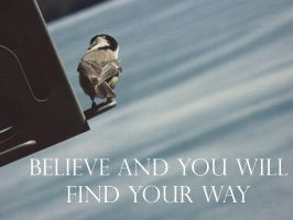 Believe And You Will Find Your Way by BiohazardessKittens