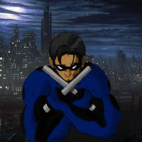Nightwing by PaulSkywalker