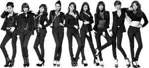 Nine Muses PNG Render by classicluv