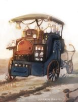 Merchant Cart by AmandaMullins