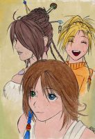 YuRiLu - the REAL trio by crimsontriforce