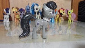 My little pony toy Figures by DarkMagister125