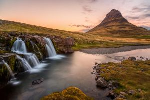Kirkjufell Sunset by JohnyG