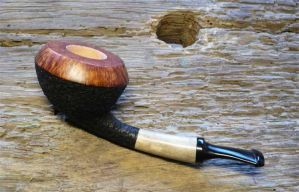 Rusticated+Horn by Pipemaker