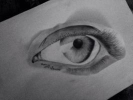 Realistic eye by Nancy9595