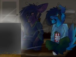 Movie Night: Commision by Woods-Of-Lynn