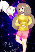 Bee And Puppycat by dulceq345pucca