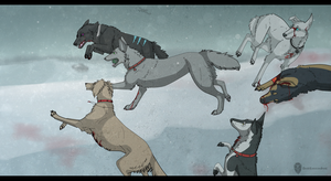 WW2 dogs by DeadRussianSoul