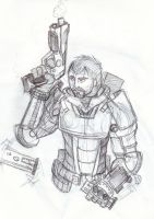 Mass Effect me by Anvilous