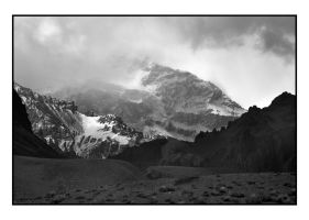 Storm engulfing Aconcagua by unAmerican