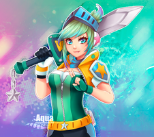 [League of Legends] Riven Arcade by AquaLeonhart