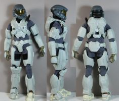 Halo Reach armor wip 1 by redner