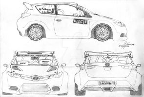 For the Love of Rallying: Toyota Corolla RS-GT WRC by PongPerez