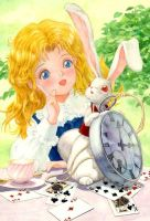 Alice and MarchHare by efira-japan