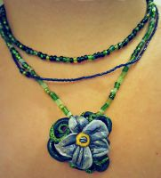 ForgetMeNocti-Pendant by FiretruckCherie