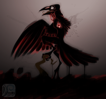 ::- ''Crow'' -:: by Drawotion