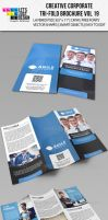 Creative Corporate Tri-Fold Brochure Vol 19 by jasonmendes