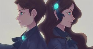 Reverse twins by muchuan