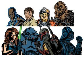Star Wars passes by RobertRath