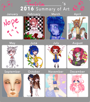 2016 Art Summary by Taviria