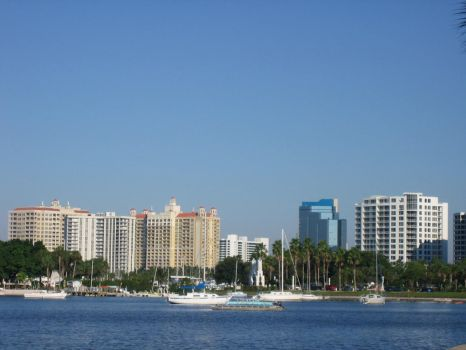 Sarasota Skyline by rapstallion